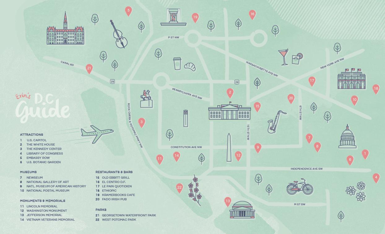 Washington D.C. Map – Erin Hollen on city map dc, map with metro stops dc, civil war map washington dc, wmata map washington dc, county map washington dc, usa map washington dc, google maps dc, zip code map nw dc, simple map washington dc, subway map for washington dc, map showing washington, printable map washington dc, map ofwashington dc, star map washington dc, street map with metro stations washington dc, us map showing dc, neighborhood and ward map dc, print map washington dc, interactive metro map washington dc, united states map with dc,