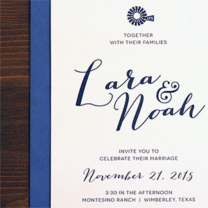 Lara + Noah Wedding